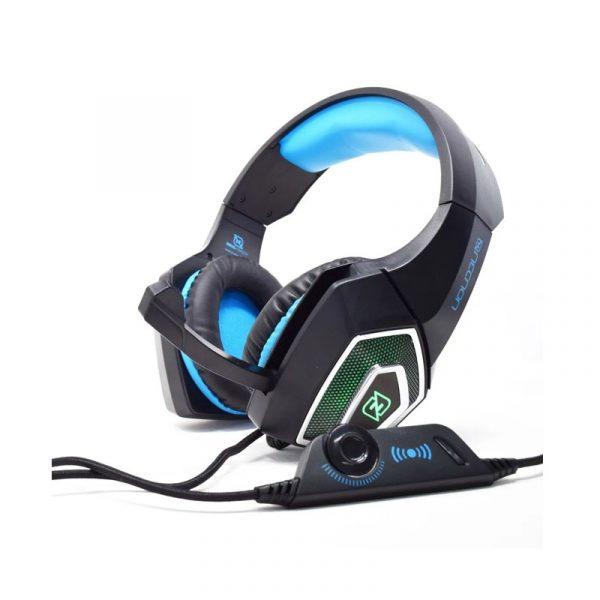 Audifonos Gamer marca Necnon modelo Dragon en color Azul