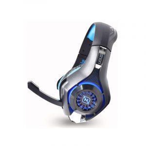 Audifonos Gamer marca Necnon modelo Viper en color azul